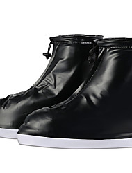 cheap -Unisex Shoe Cover Solid Colored Antibacterial PVC(PolyVinyl Chloride) EU36-EU46