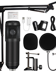 cheap -BM800 Studio Microphone Professional Condenser Sound Recording Microphone For Computer