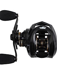 cheap -Fishing Reel Baitcasting Reel 6.3:1 Gear Ratio+18 Ball Bearings Freshwater Fishing / Right-handed / Left-handed