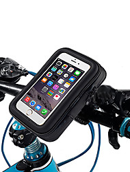 cheap -Waterproof Touch Screen Phone Pouch Bag Motorcycle Cycling Bike Handlebar Tube Mount Rotatable - B
