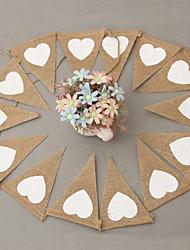povoljno -konoplja ljubav trokut zastava zabava vjenčanje transparenti