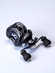 cheap -Fishing Reel Baitcasting Reel 7.2:1 Gear Ratio+1 Ball Bearings Freshwater Fishing / Carbon Fiber / Right-handed / Left-handed