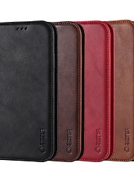 preiswerte -Hüllen für iPhone 7/8 / 7p / 8p / x / xs / xr / xs max / 11/11 pro / 11 pro max / se 2020 Luxus Flip Magnet Vintage matt Leder Ledertaschen
