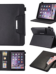 cheap -Case For Apple iPad Pro 11'' / Ipad Pro 11''2020 360° Rotation / Shockproof / Magnetic Full Body Cases Solid Colored PU Leather / TPU