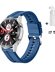 cheap -GT10 1.3inch Full-round Touch Screen 24h Heart Rate Blood Pressure Oxygen Monitor Music Contorl Weather Push Smart Watch