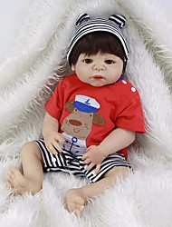 cheap -Reborn Baby Dolls Clothes Reborn Doll Accesories Cotton Fabric for 22-24 Inch Reborn Doll Not Include Reborn Doll Sheep Soft Pure Handmade Boys' 2 pcs