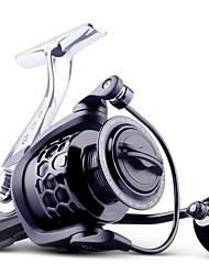 cheap -Fishing Reel Spinning Reel 5.2/1 Gear Ratio+13 Ball Bearings Hand Orientation Exchangable Freshwater Fishing