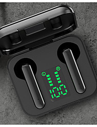 cheap -LITBest L12 Bluetooth 5.0 Earbuds Intelligent Voice Assistant Automatic Connection Touch Recognition Earphones LED Battery Display Hifi Sound Quality Headset with Charging Compartment