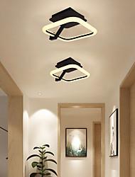 cheap -22 cm Geometric Shapes Flush Mount Lights Aluminum Painted Finishes LED Modern 110-120V 220-240V