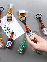 cheap -Beer Bottle Opener Creative Practical Stainless Steel Wine Kitchen Accessories Fridge Magnets