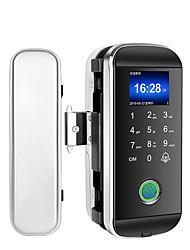 cheap -ABS+PC Fingerprint Lock / Intelligent Lock / Password lock Smart Home Security System Fingerprint unlocking / Password unlocking Office Security Door / Composite Door (Unlocking Mode Fingerprint