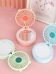 cheap -Air Cooling Fan Handheld Fan Portable Cute Multifunction Handheld Design Cool and Refreshing Wind Speed Regulation Lightweight with LED Light ABS Chargeable For Travel Gift Daily