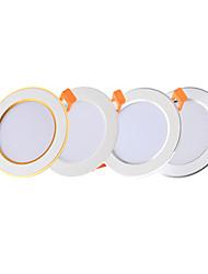 cheap -6pcs 4pcs LED Downlight 3W Round Recessed Lamp 220V 110V Led Bulb Bedroom Kitchen Indoor LED Spot Lighting