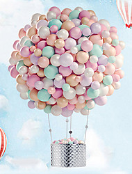 cheap -Party Balloons 100 pcs Macaron Party Supplies Latex Balloons Banner Boys and Girls Party Wedding Birthday 10inch for Party Favors Supplies or Home Decoration