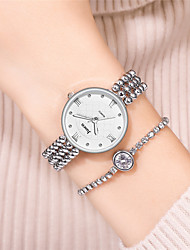 cheap -Women's Bracelet Watch Quartz Watches Analog Quartz Modern Style Stylish Fashion Chronograph Creative Cool Word / Phrase