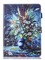 cheap -Case For Apple iPad Pro 10.5 / Ipad air3 10.5' 2019 360° Rotation / Shockproof / Magnetic Full Body Cases Butterfly / Scenery / Flower PU Leather / TPU