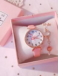 cheap -Kids Quartz Watches Analog Quartz Novelty Stylish Fashion Chronograph Cute New Design / PU Leather