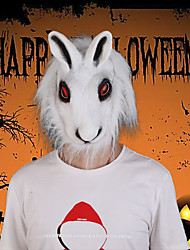 cheap -Halloween Party Toys Masks Costume Hooded Masks 2 pcs Rabbit Masquerade Vinyl Adults Trick or Treat Halloween Party Favors Supplies