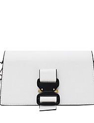 お買い得  -女性用 PU クロスボディーバッグ 2020 ホワイト / ブラック / ピンク
