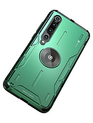 cheap -Case For  Xiaomi Mi 10  Xiaomi Mi 10Pro Shockproof  with Stand Back Cover Solid Colored Silicone  Metal