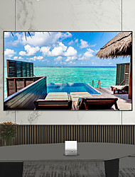 cheap -Projector Simple Curtain Anti-light Screen 60 inch Home Outdoor Office Portable 3D HD Projector Screen