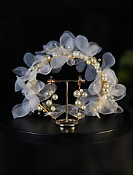 cheap -Sweet Style Crystal / Imitation Pearl / Alloy Headbands / Suits with Crystal / Faux Pearl / Floral 1pc Wedding / Daily Wear Headpiece