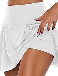 cheap -Women's Daily Wear Date Basic Sexy Mini Swing Skirts Solid Colored Layered / Skinny
