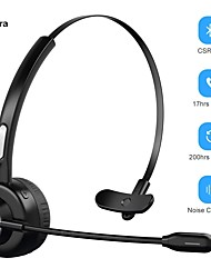 cheap -LITBest M97 Over-ear Headphone Wireless Bluetooth 5.0 with Microphone with Volume Control Sweatproof Smart Touch Control for Office Business