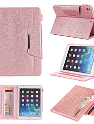 cheap -Case For Apple iPad Air  iPad (2018)  iPad Air 2 iPad(2017) iPad Pro9.7 iPad5 6 7 8 9  360 Rotation Shockproof Magnetic Full Body Cases Solid Colored PU Leather TPU