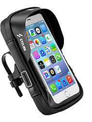 cheap -Cell Phone Bag Bike Handlebar Bag 6 inch Cycling for Black Bike / Cycling Recreational Cycling