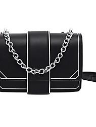 お買い得  -女性用 PU トップハンドルバッグ 2020 ブラック / ルビーレッド / イエロー