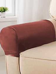 cheap -Sofa Cover Solid Colored Flocking PU Slipcovers