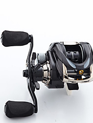 cheap -Fishing Reel Baitcasting Reel 7.2:1 Gear Ratio+18 Ball Bearings Freshwater Fishing / Right-handed / Left-handed