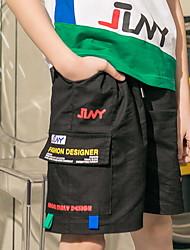 cheap -Kids Boys' Print Shorts Black