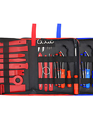cheap -25Pcs Trim Removal Tool Pry Kit Car Panel Tool Radio Removal Tool Kit Auto Clip Pliers Fastener Remover Pry Tool Kit Car Upholstery Repair Kit Prying Tool Kit with Storage Bag