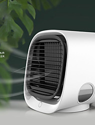 cheap -Mini Portable Air Conditioner Multi-function Humidifier Purifier USB Desktop Air Cooler Fan with Water Tank Home 5V