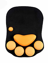 cheap -mouse pad with wrist support cat paw soft silicone wrist rests wrist cushion computer mouse pad mat desk decor & #40;10.7×7.8, black& #41;
