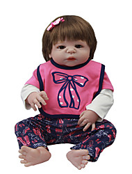 cheap -Reborn Baby Dolls Clothes Reborn Doll Accesories Cotton Fabric for 22-24 Inch Reborn Doll Not Include Reborn Doll High Heel Soft Pure Handmade Girls' 3 pcs