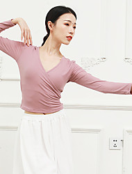 cheap -Ballet Top Bandage Women's Training Performance Long Sleeve High Modal
