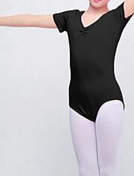 abordables -Ballet Collant / Combinaison Froncée Fille Entraînement Utilisation Taille moyenne Coton