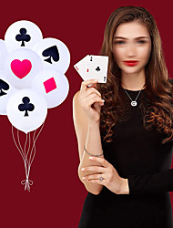 cheap -Party Balloons 100 pcs Poker Party Supplies Latex Balloons Boys and Girls Party Birthday Decoration 12inch for Party Favors Supplies or Home Decoration