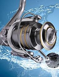 cheap -Fishing Reel Spinning Reel 5.5:1 Gear Ratio+15 Ball Bearings Hand Orientation Exchangable Sea Fishing / Freshwater Fishing / Trolling & Boat Fishing