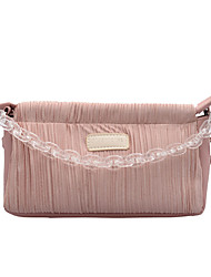 cheap -Women's Bags PU Leather / Acrylic Top Handle Bag Solid Color for Daily / Office & Career Blue / Blushing Pink / Gray / Fall & Winter