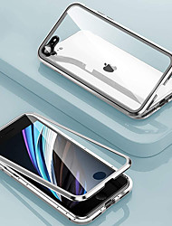 cheap -Privacy Magnetic Case For iPhone SE 2020 11 11Pro 11 ProMax X XS XR XS Max 8Plus 8 7Plus 7 Magnetic Adsorption Double Sided 360 Metal Protective Cover Anti Peep Anti Spy