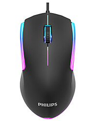 cheap -PHILIPS G314 Wired USB Laser Gaming Mouse Led Breathing Light for PC Laptop