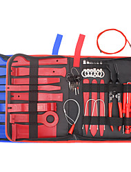 cheap -39Pcs Trim Removal Tool Pry Kit Car Panel Tool Radio Removal Tool Kit Auto Clip Pliers Fastener Remover Pry Tool Kit Car Upholstery Repair Kit Prying Tool Kit with Storage Bag