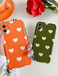 cheap -Cute Love Heart Phone Case for Iphone Xr Xs Max SE 2020 7  8 Plus Fritillaria Silicone Case for Iphone 11 11Pro Max Case Tpu Case