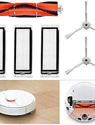 cheap -for Xiaomi Mi Robot Vacuum Cleaner Replacement Parts Accessories Set 1 Main Brush 2 Side Brushes 3 Washable Filters