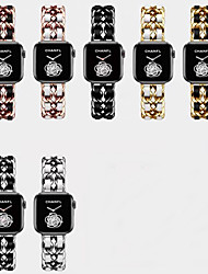 cheap -Smart Watch Band for Apple iWatch 1 pcs Jewelry Design Stainless Steel Replacement  Wrist Strap for Apple Watch Series SE / 6/5/4/3/2/1 38mm 40mm 42mm 44mm