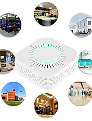 cheap -Wireless Smoke Fire Alarm Sensor Home Automation Safety Protection Alarm Rf433 Smoke Detector And Sonoff Rf Bridge Are Used Together